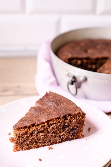 Torta Di Pangrattato e Cioccolato